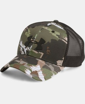 Men's UA Camo Mesh 2.0 Cap  3  Colors Available $24.99