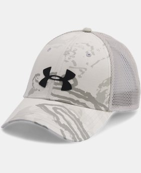 Men's UA Camo Mesh 2.0 Cap  1  Color $18.74