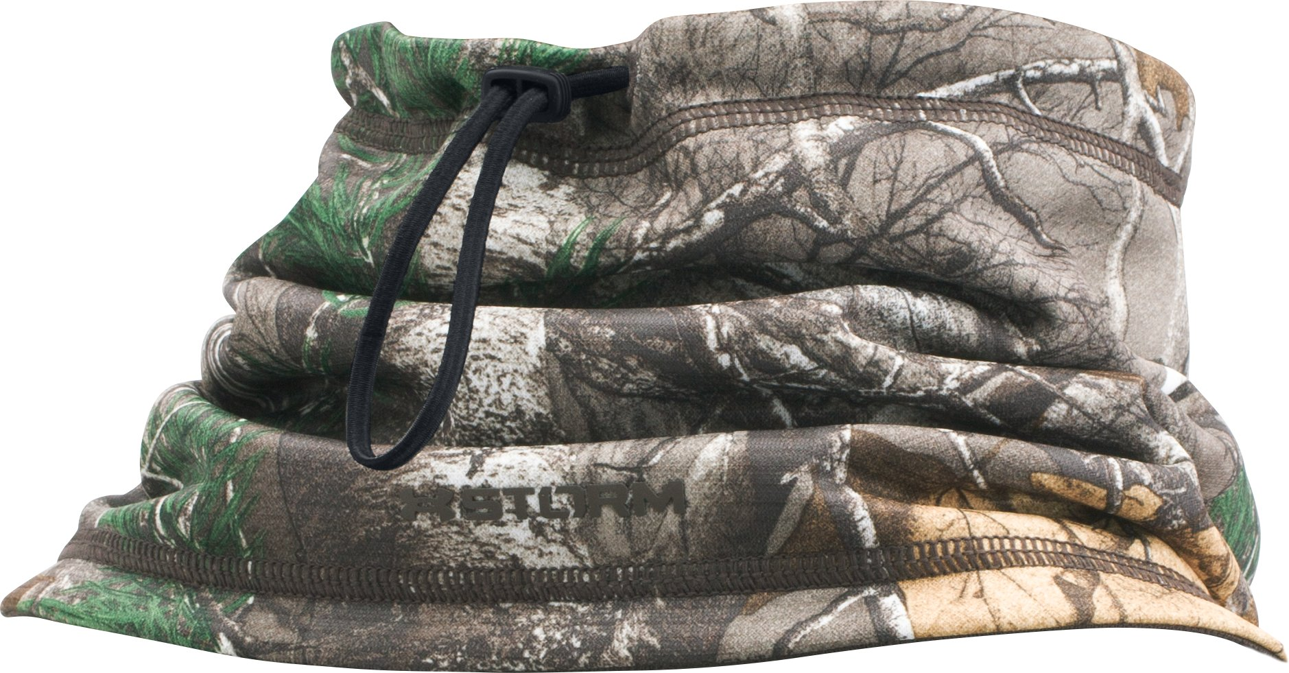 Men's UA Scent Control Storm Neck Gaiter, REALTREE AP-XTRA, undefined