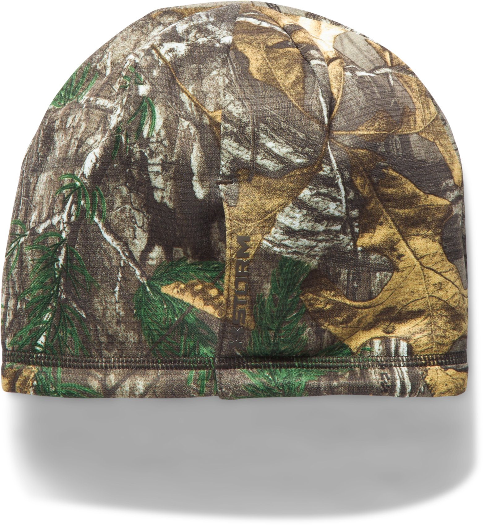 Women's UA Scent Control Storm Fleece Beanie, REALTREE AP-XTRA, undefined