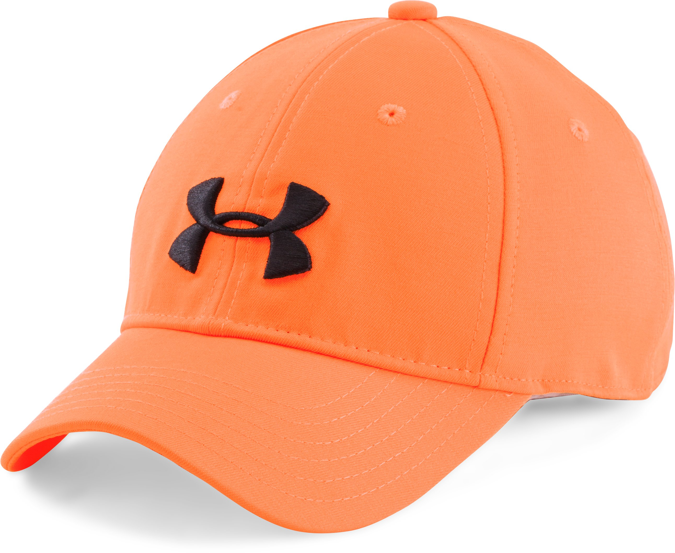 Boys' UA Camo Cap 2.0, Blaze Orange,