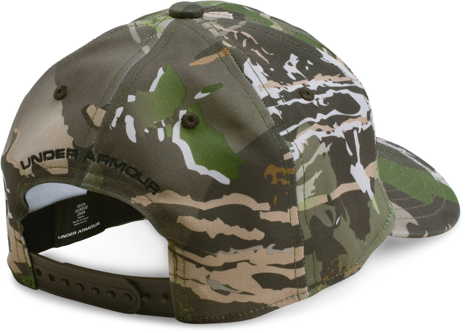 Boys' UA Camo Cap 2.0, RIDGE REAPER® FOREST, undefined