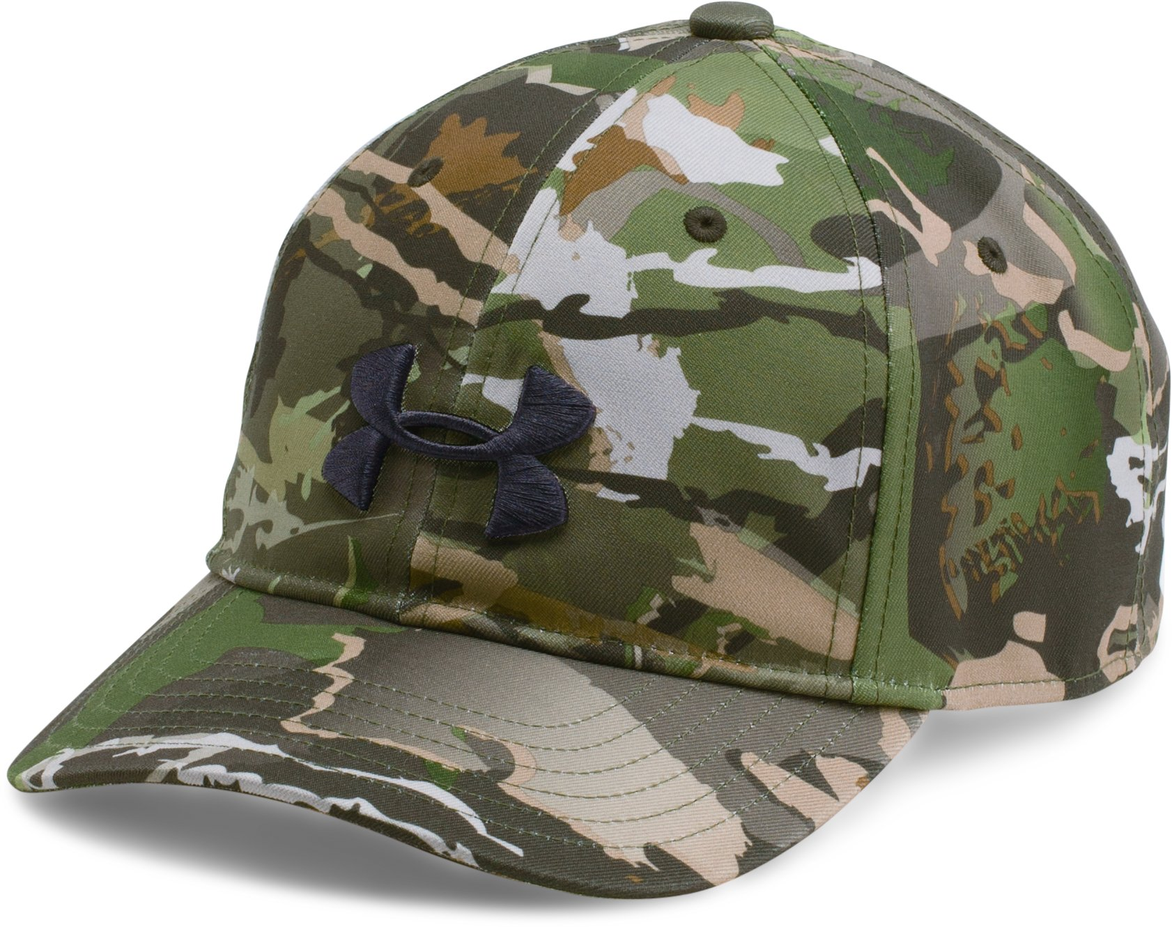 Boys' UA Camo Cap 2.0, RIDGE REAPER® FOREST
