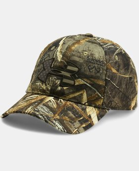 Men's UA Camo Big Flag Logo Cap  1  Color Available $27.99