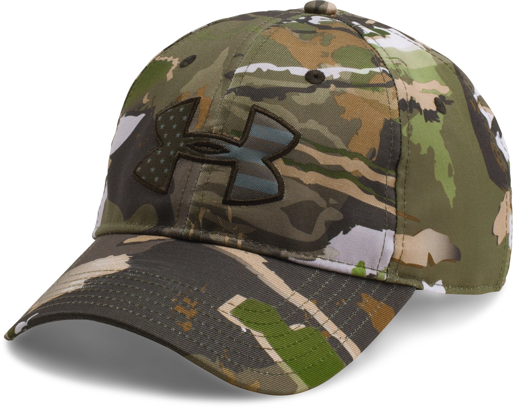 Men's UA Camo Big Flag Logo Cap, RIDGE REAPER® FOREST, undefined