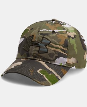 Men's UA Camo Big Flag Logo Cap  3 Colors $27.99