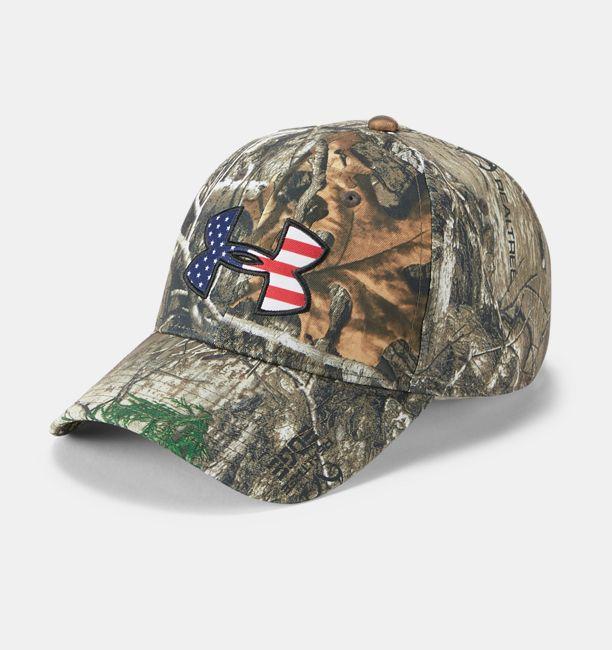 best loved 5b72c 5f944 UA Camo Big Flag Logo Cap. Men s Hunting Headwear