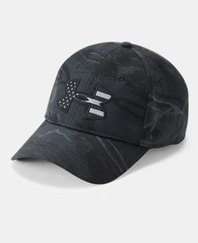 Men's UA Camo Big Flag Logo Cap  2  Colors Available $27.99