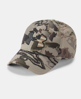 8449752b8b5 Men s UA Camo Big Flag Logo Cap 3 Colors Available  27.99