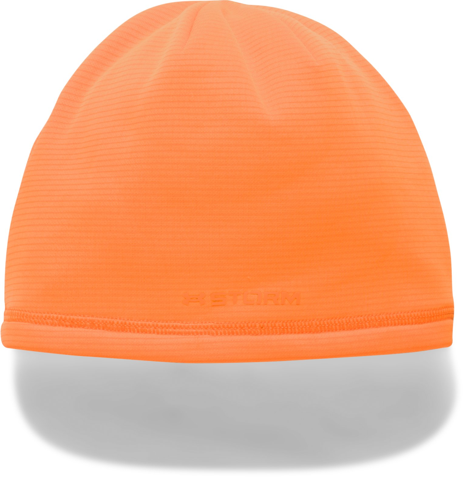 Boys' UA Scent Control Storm Fleece Beanie, Blaze Orange,