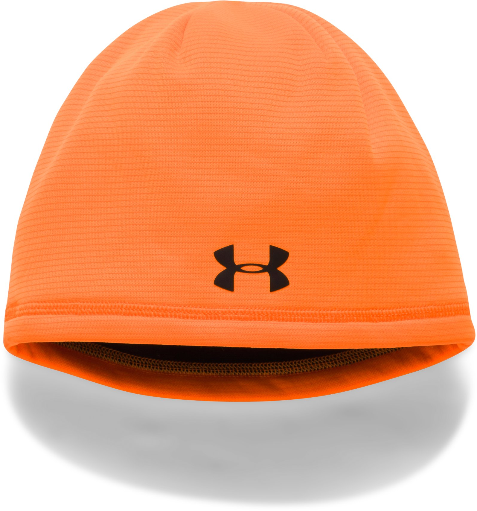 Boys' UA Scent Control Storm Fleece Beanie, Blaze Orange