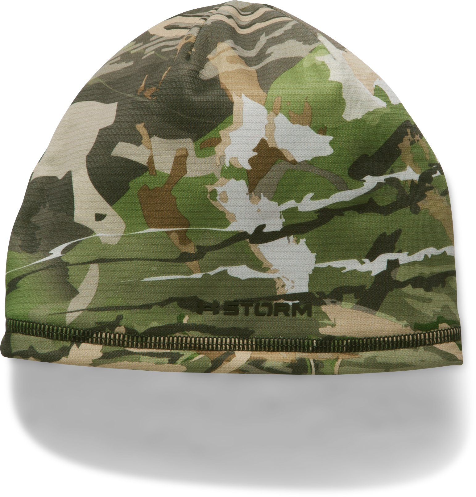 Boys' UA Scent Control Storm Fleece Beanie, RIDGE REAPER® FOREST,