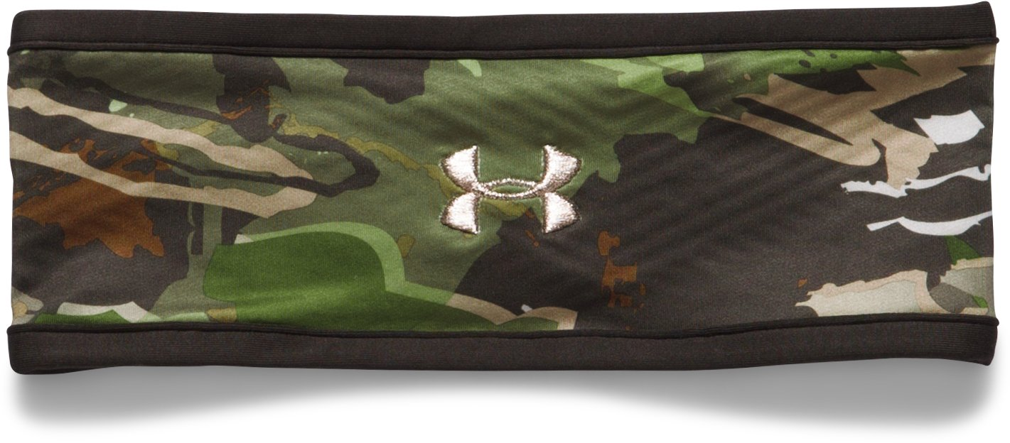 Women's ColdGear® Infrared Fleece Camo Headband, RIDGE REAPER® FOREST, undefined