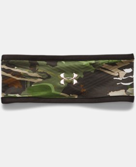 Women's ColdGear® Infrared Fleece Camo Headband  1  Color Available $24.99
