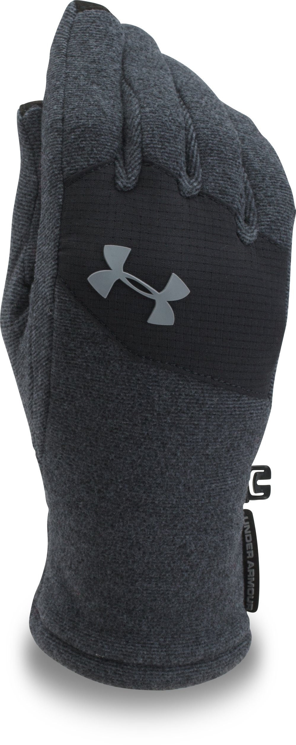 Kids' ColdGear® Infrared Fleece Gloves, Black