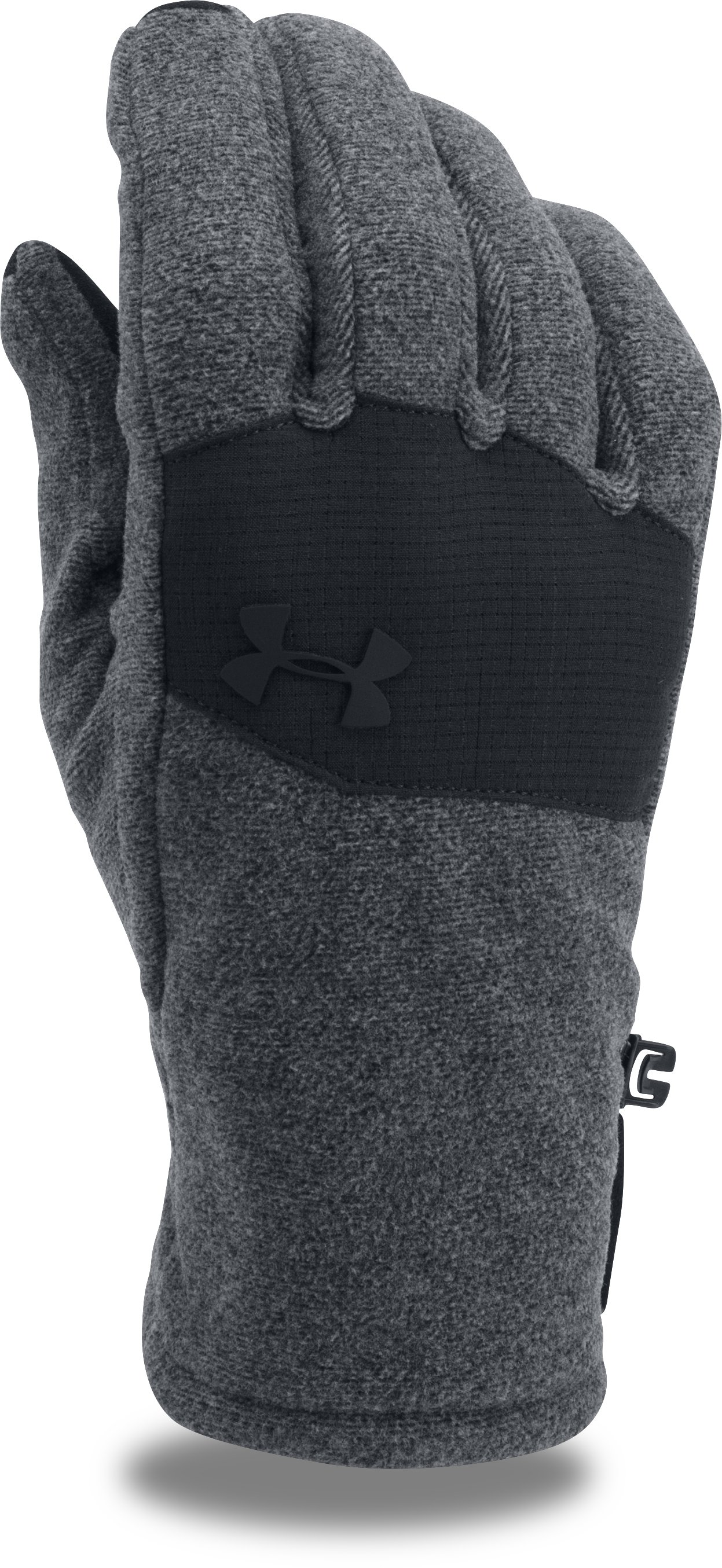 Men's ColdGear® Infrared Fleece 2.0 Gloves, Black ,