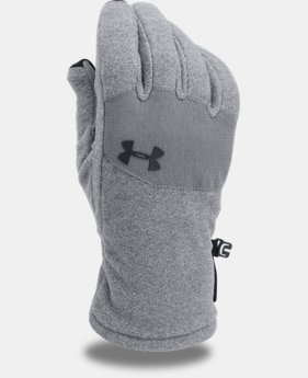 Men's ColdGear® Infrared Fleece 2.0 Gloves  1  Color Available $15
