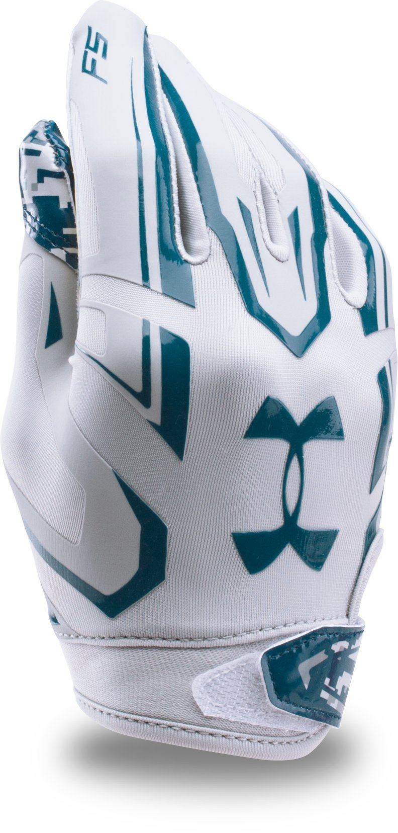 Boys' UA F5 — Limited Edition Football Gloves, Aluminum, undefined