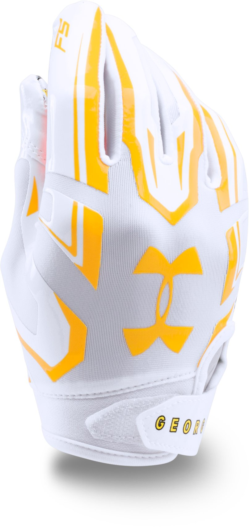 Boys' UA F5 — Limited Edition Football Gloves, White,