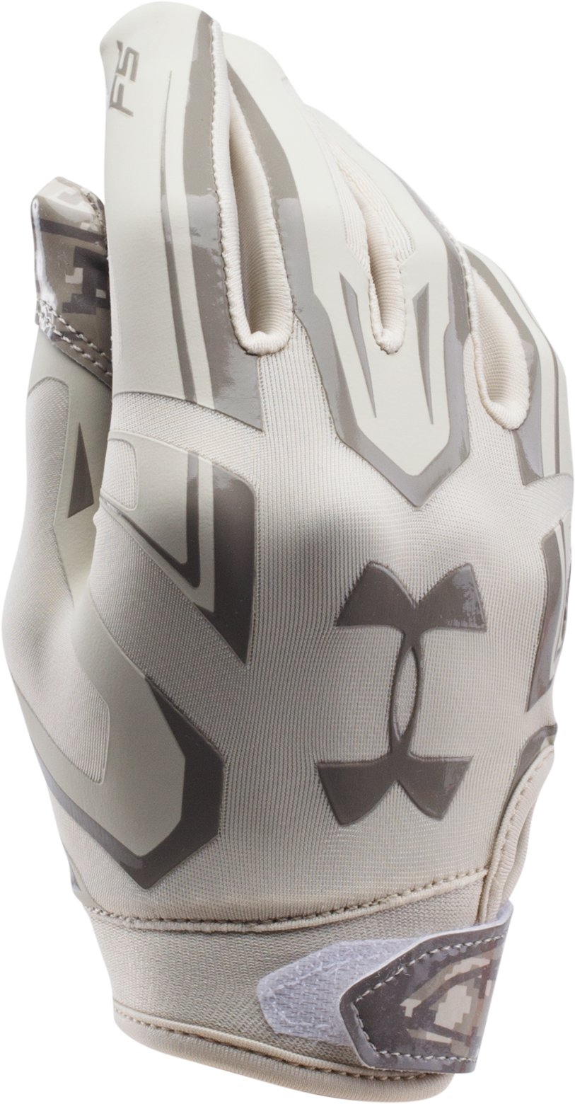 Boys' UA F5 — Limited Edition Football Gloves, Sandstorm, undefined