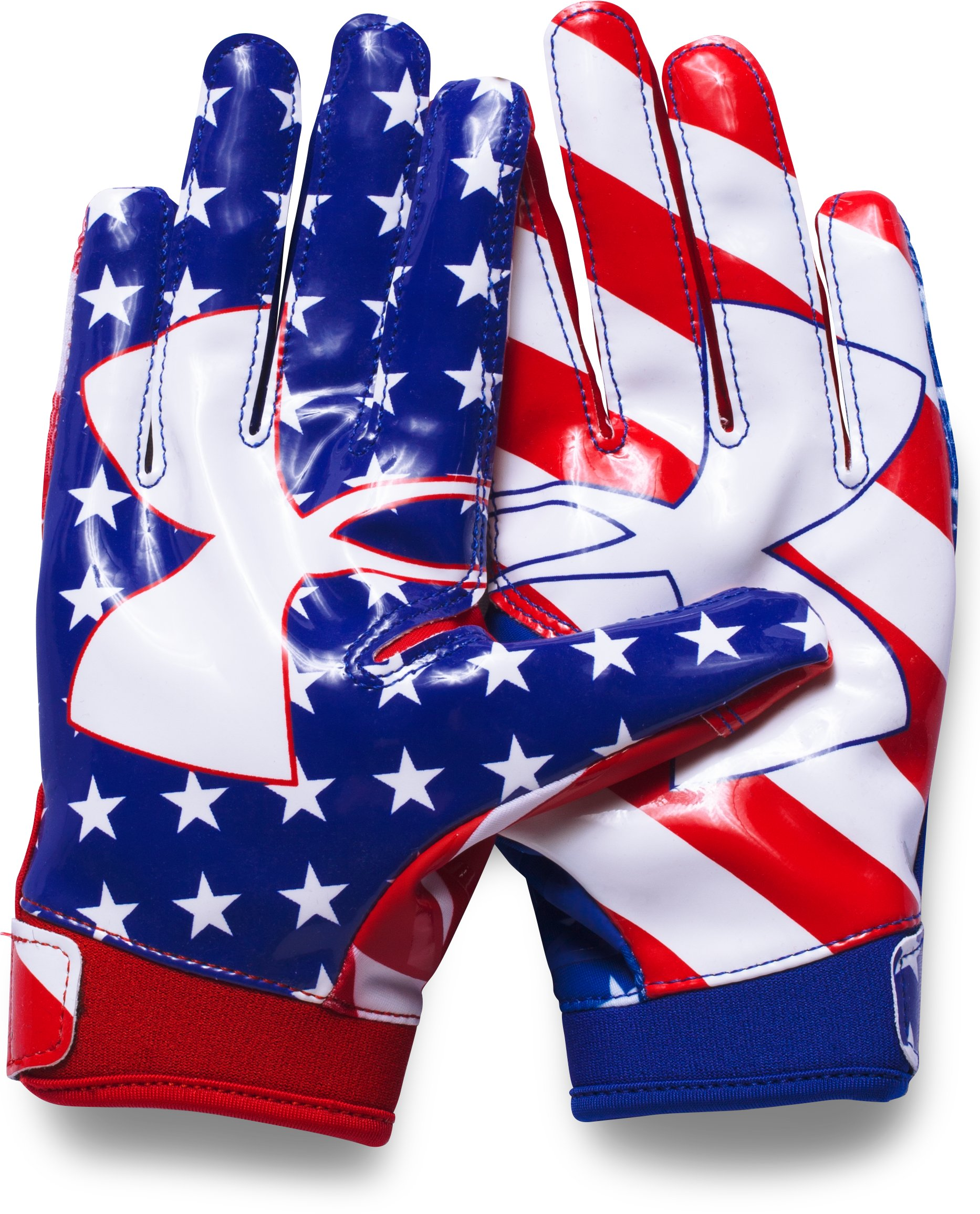 Boys' UA F5 — Limited Edition Football Gloves, Red