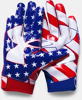 Boys' UA F5 — Limited Edition Football Gloves  1 Color $29.99