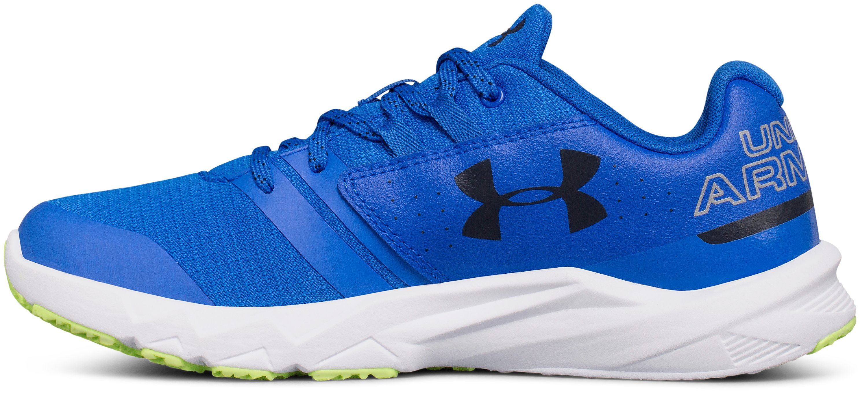 Boys' Grade School UA Primed X Running Shoes, ULTRA BLUE, undefined