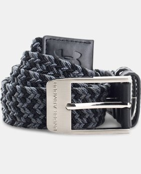 Boys' UA Braided Golf Belt  1 Color $34.99