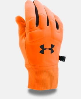 Men's UA Scent Control Armour Fleece® 2.0 Gloves  4 Colors $34.99