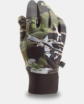 Men's UA Scent Control Armour® Fleece 2.0 Gloves  3 Colors $34.99