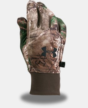 Men's UA Scent Control Armour® Fleece 2.0 Gloves  5 Colors $34.99