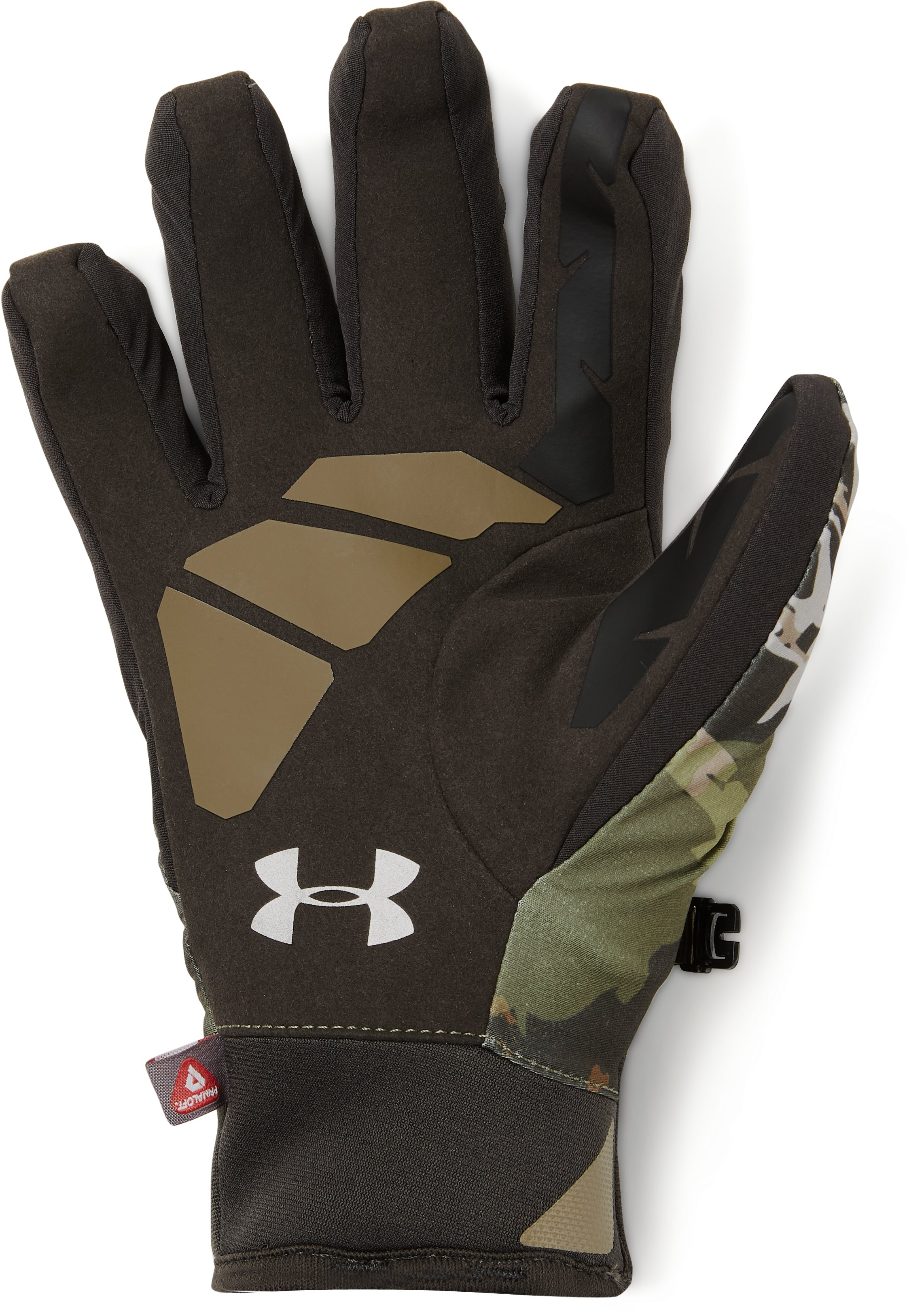 Women's UA Primer Gloves, RIDGE REAPER® FOREST, undefined