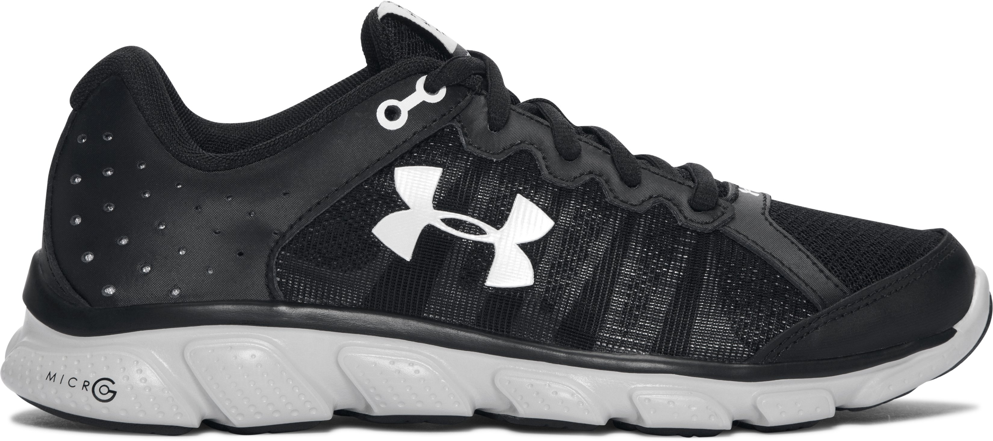 Women's UA Freedom Assert 6 Running Shoes, Black ,