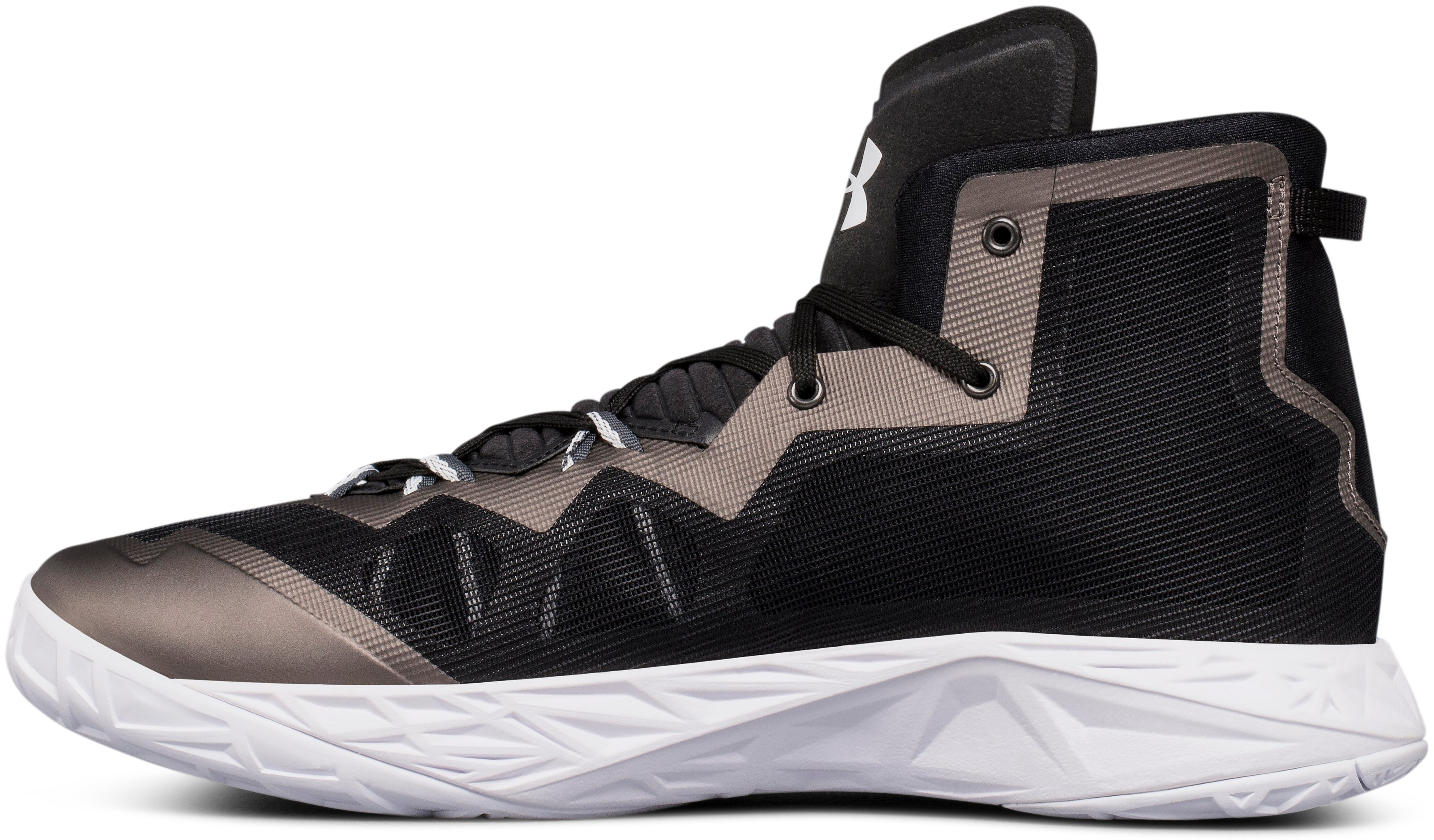 Men's UA Lightning 4 Basketball Shoes, Black , undefined