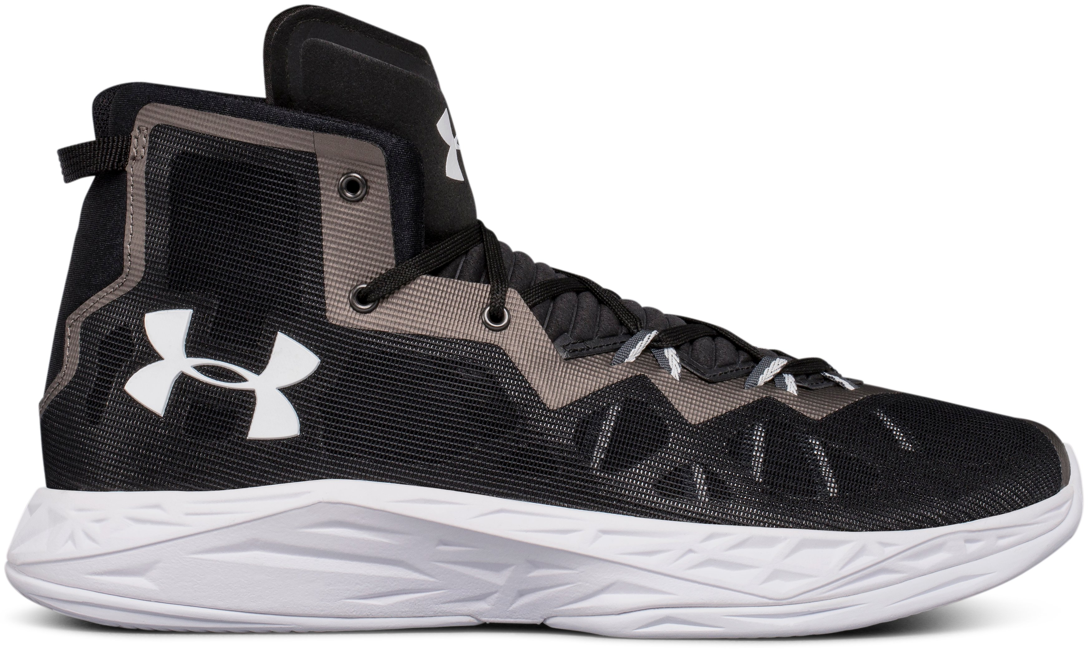 Men's UA Lightning 4 Basketball Shoes, Black ,