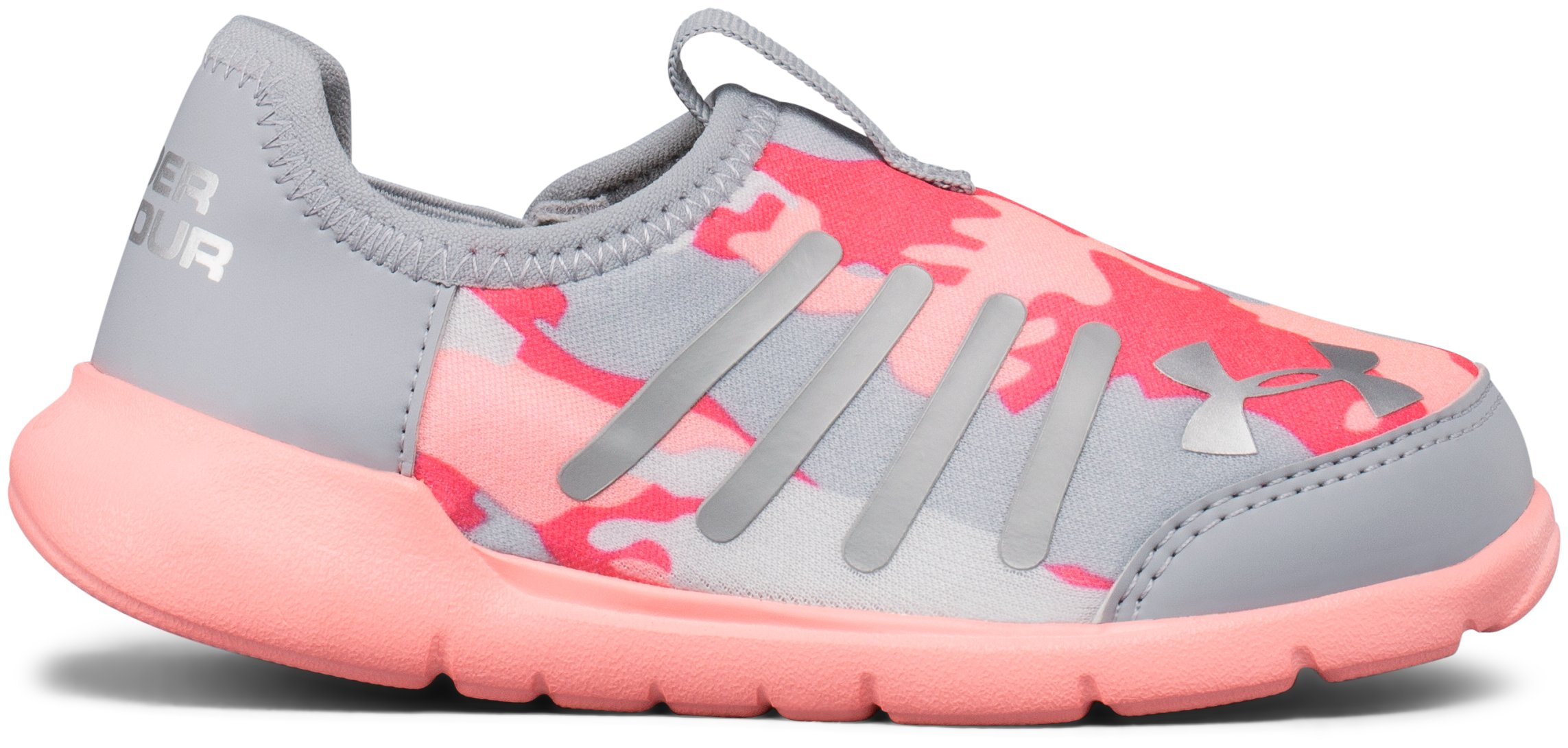 Girls' Infant UA Superflex Running Shoes, OVERCAST GRAY, undefined