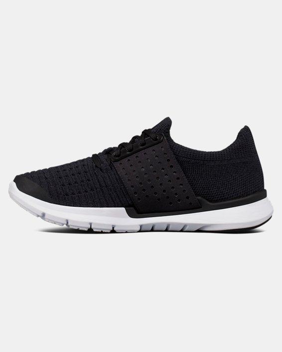 Boys' Grade School UA SpeedForm® Slingwrap Running Shoes, Black, pdpMainDesktop image number 1