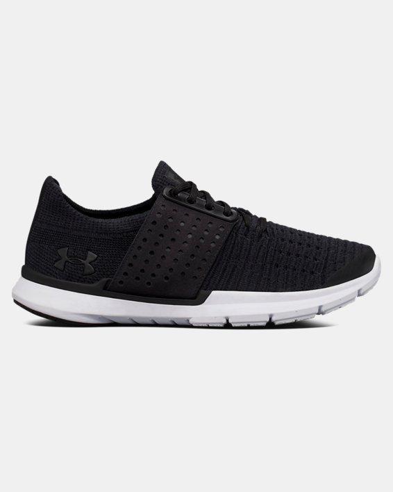 Boys' Grade School UA SpeedForm® Slingwrap Running Shoes, Black, pdpMainDesktop image number 0