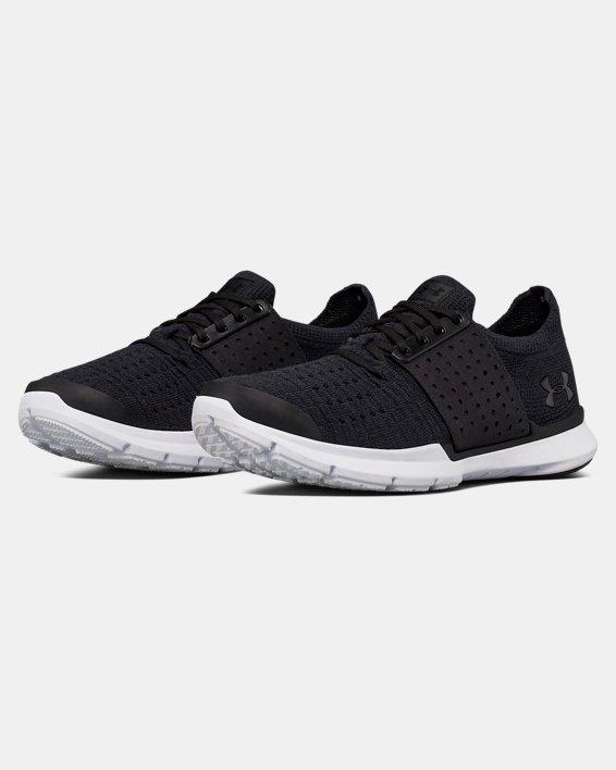 Boys' Grade School UA SpeedForm® Slingwrap Running Shoes, Black, pdpMainDesktop image number 4