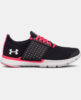 Girls' Grade School UA Threadborne Slingwrap Running Shoes  3  Colors Available $63.74