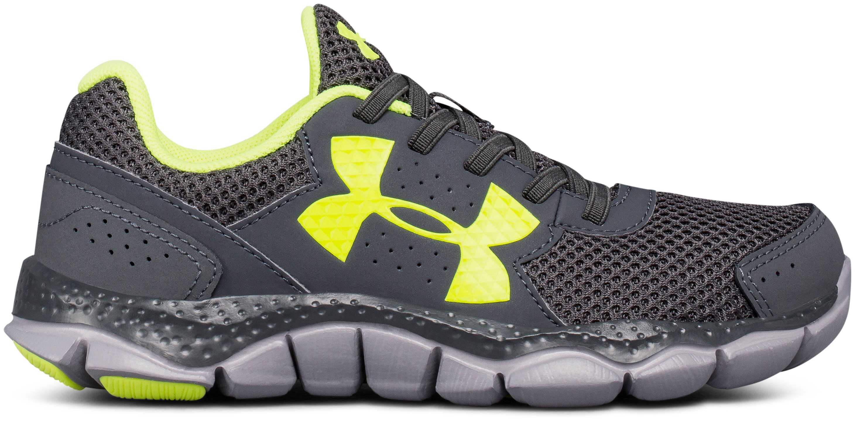 Boys' Pre-School UA Micro G® Engage Bungee Lace Running Shoes 1 Color $54.99