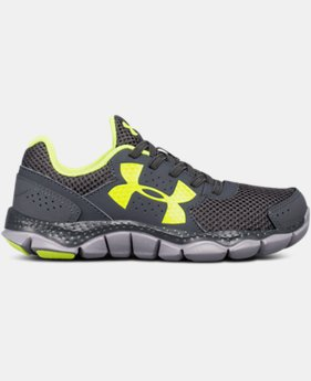 Best Seller Boys' Pre-School UA Micro G® Engage Bungee Lace Running Shoes  1 Color $54.99