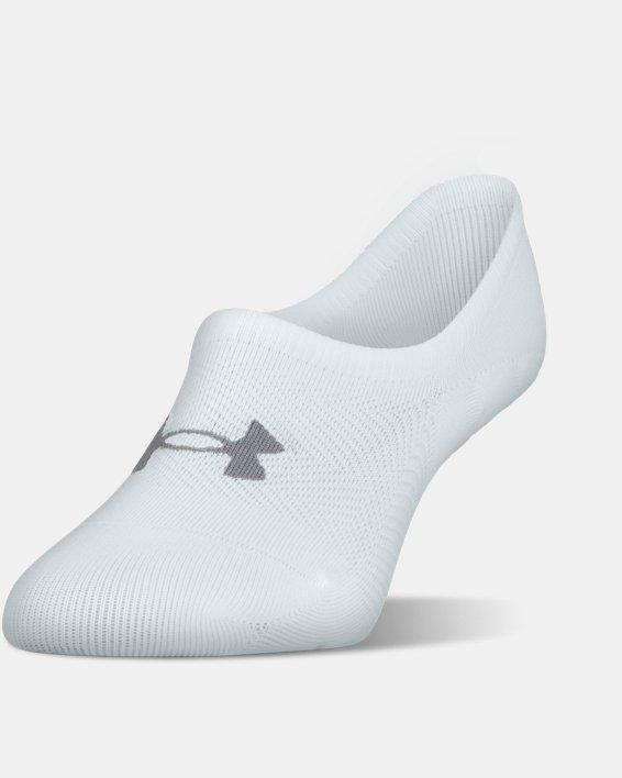 Women's UA Essential Ultra Low Liner Socks - 3-Pack, Blue, pdpMainDesktop image number 0