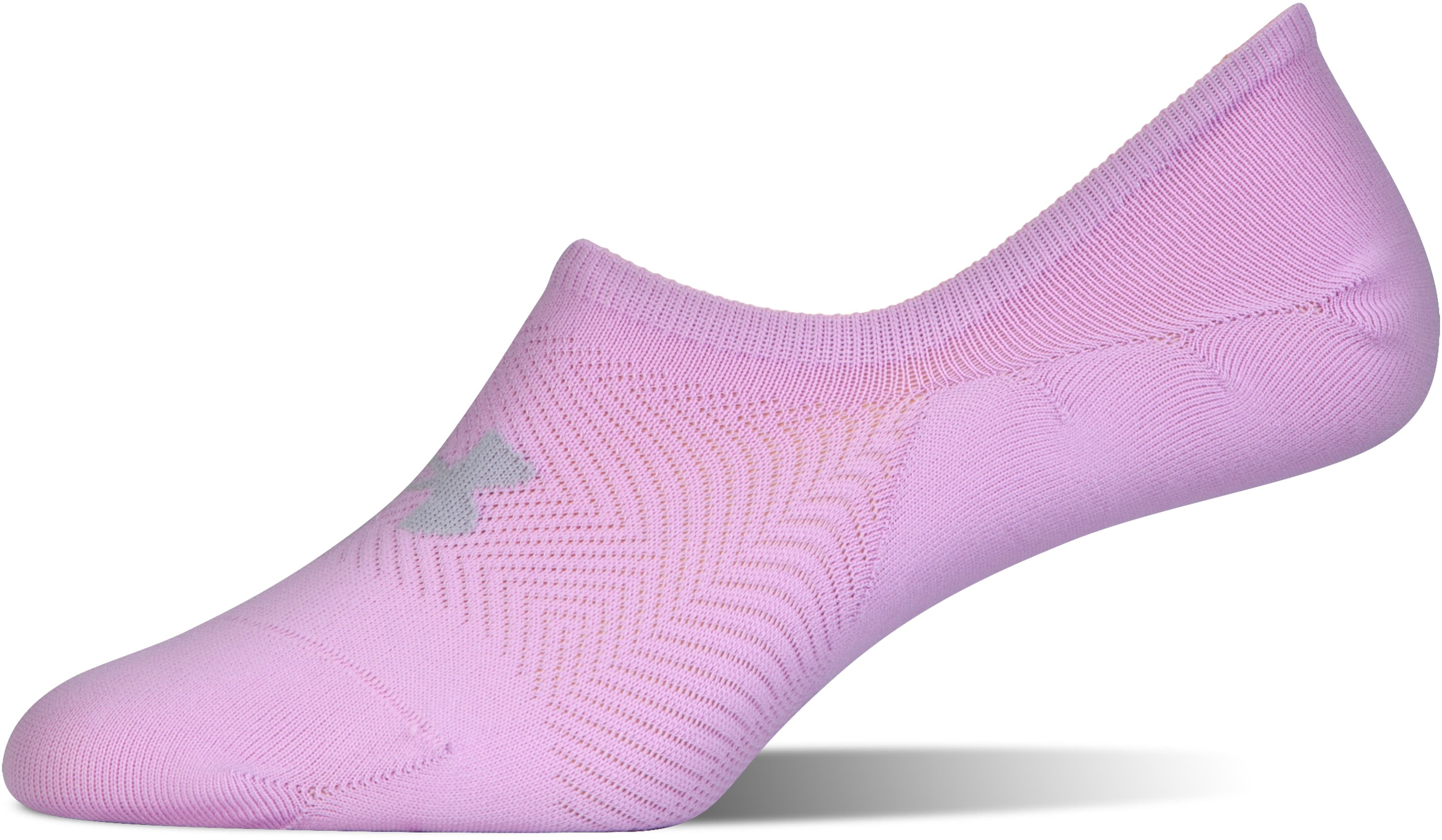Women's UA Essential Ultra Low Liner Socks – 3-Pack, PINK FOAM, undefined