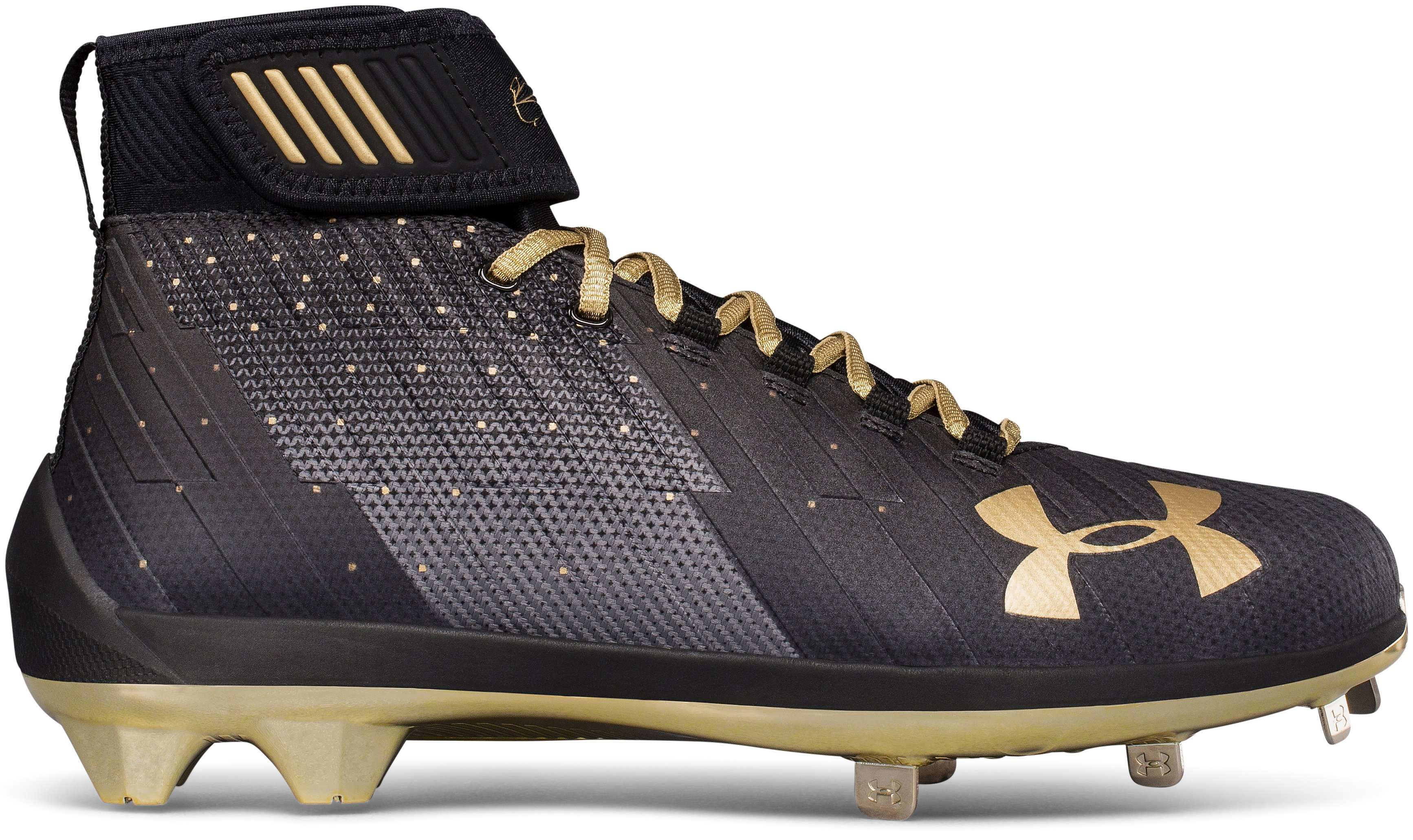 Men's UA Harper 2 Mid ST – Limited Edition Baseball Cleats, Black