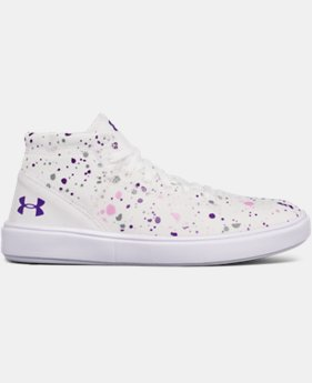 Girls' Grade School UA KickIt2 Splatter Mid Lifestyle Shoes  2  Colors $39.99