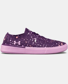 Girls' Grade School UA KickIt2 Splatter Lifestyle Shoes  1 Color $39.99