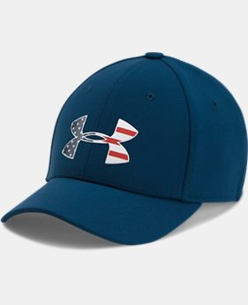 Boys' UA Freedom Low Crown Stretch Fit Cap  2  Colors Available $24.99