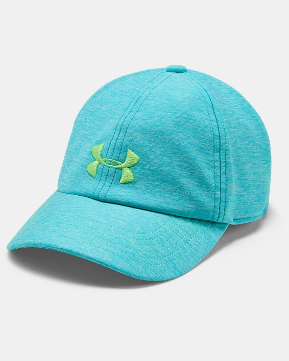 Girls' UA Twisted Cap, Blue, pdpMainDesktop image number 0