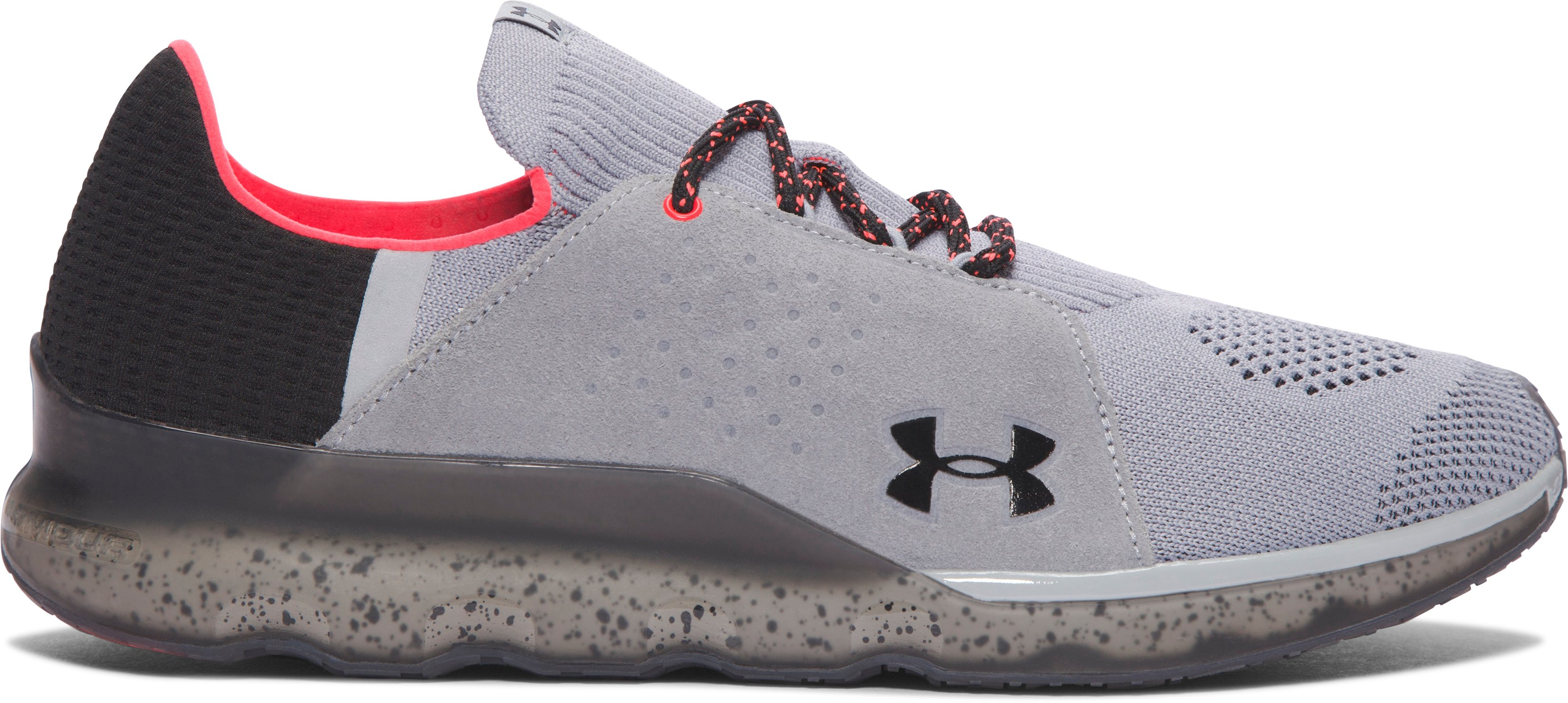 Men's UA Threadborne Reveal Running Shoes, OVERCAST GRAY,